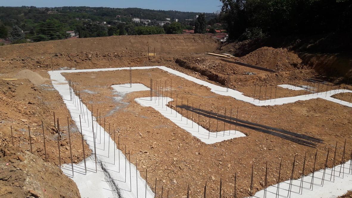 Debut Chantier Construction