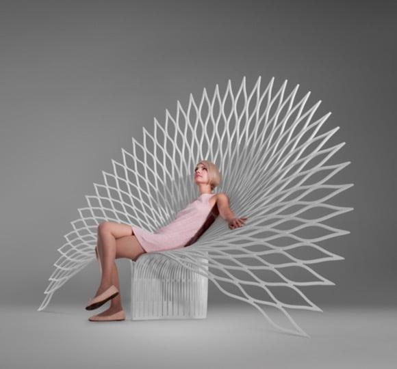 Chaise En Papier Paon Boethic