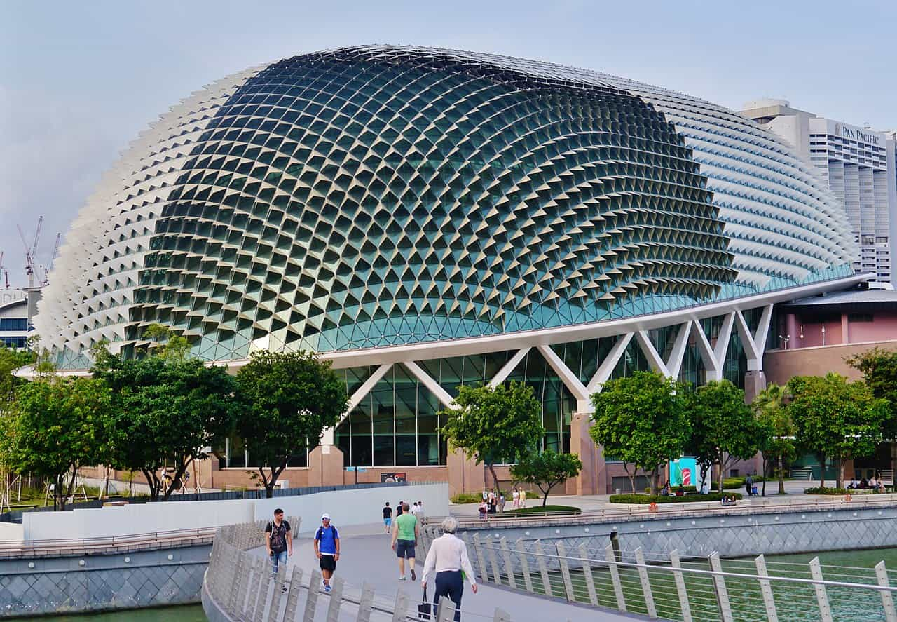 Esplanade Theater Singapour. Boethic 1